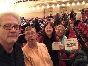 CindyEW attended A Walt Whitman Sampler - Presented by the American Symphony Orchestra on Oct 17th 2018 via VetTix