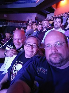William attended Bellator 207 - Mitrione vs. Bader - World Grand Prix - Live Mixed Martial Arts on Oct 12th 2018 via VetTix