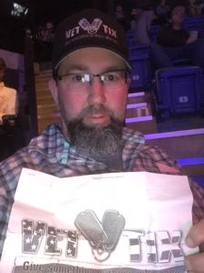 Wendell attended Bellator 207 - Mitrione vs. Bader - World Grand Prix - Live Mixed Martial Arts on Oct 12th 2018 via VetTix