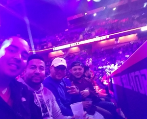 Nery attended Bellator 207 - Mitrione vs. Bader - World Grand Prix - Live Mixed Martial Arts on Oct 12th 2018 via VetTix
