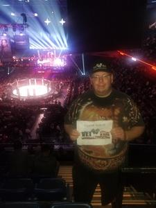 Brian attended Bellator 207 - Mitrione vs. Bader - World Grand Prix - Live Mixed Martial Arts on Oct 12th 2018 via VetTix