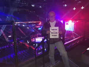 Doug attended Bellator 207 - Mitrione vs. Bader - World Grand Prix - Live Mixed Martial Arts on Oct 12th 2018 via VetTix