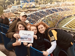 Click To Read More Feedback from Navy Midshipmen vs. Temple Owls - NCAA Football