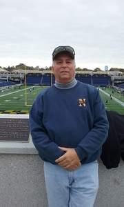 Randy attended Navy Midshipmen vs. Temple Owls - NCAA Football on Oct 13th 2018 via VetTix