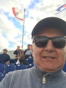 Jeffrey attended Navy Midshipmen vs. Temple Owls - NCAA Football on Oct 13th 2018 via VetTix