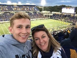 Gregg attended Navy Midshipmen vs. Temple Owls - NCAA Football on Oct 13th 2018 via VetTix