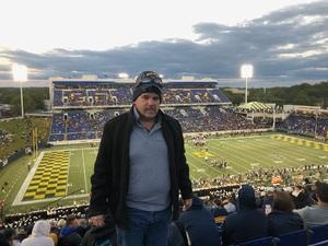 DJ attended Navy Midshipmen vs. Temple Owls - NCAA Football on Oct 13th 2018 via VetTix