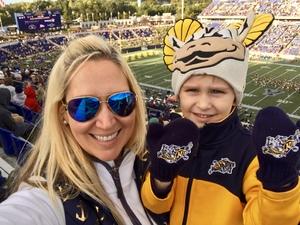 Douglas attended Navy Midshipmen vs. Temple Owls - NCAA Football on Oct 13th 2018 via VetTix