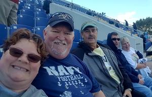 Dan attended Navy Midshipmen vs. Temple Owls - NCAA Football on Oct 13th 2018 via VetTix