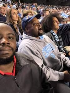 Gregory attended North Carolina Tar Heels vs. Virginia Tech Hokies - NCAA Football on Oct 13th 2018 via VetTix
