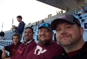 David attended North Carolina Tar Heels vs. Virginia Tech Hokies - NCAA Football on Oct 13th 2018 via VetTix