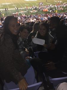Annita attended North Carolina Tar Heels vs. Virginia Tech Hokies - NCAA Football on Oct 13th 2018 via VetTix