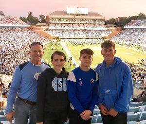 Todd attended North Carolina Tar Heels vs. Virginia Tech Hokies - NCAA Football on Oct 13th 2018 via VetTix