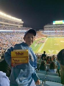 St Romain Family attended North Carolina Tar Heels vs. Virginia Tech Hokies - NCAA Football on Oct 13th 2018 via VetTix