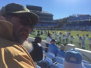 Richard attended North Carolina Tar Heels vs. Georgia Tech Yellow Jackets - NCAA Football - Time TBA on Nov 3rd 2018 via VetTix