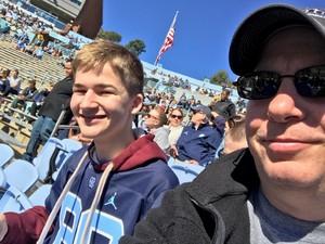Michael attended North Carolina Tar Heels vs. Georgia Tech Yellow Jackets - NCAA Football - Time TBA on Nov 3rd 2018 via VetTix