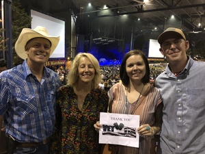 Reese attended Wmzq Fall Fest Featuring Lady Antebellum and Darius Rucker - Country on Oct 6th 2018 via VetTix