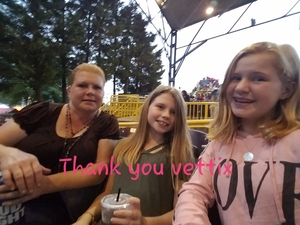 Megan attended Wmzq Fall Fest Featuring Lady Antebellum and Darius Rucker - Country on Oct 6th 2018 via VetTix