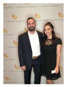Joanna Crum attended The Phoenix Symphony Presents Tchaikovsky's Fourth and Rachel Barton Pine - Friday on Oct 12th 2018 via VetTix