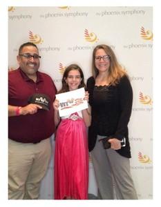 RO attended The Phoenix Symphony- Tchaikovskyas Fourth and Rachel Barton Pine - Sunday Matinee on Oct 14th 2018 via VetTix
