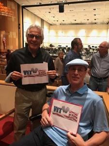 Gary attended The Phoenix Symphony- Tchaikovskyas Fourth and Rachel Barton Pine - Sunday Matinee on Oct 14th 2018 via VetTix