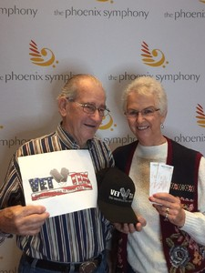 Thomas attended The Phoenix Symphony- Tchaikovskyas Fourth and Rachel Barton Pine - Sunday Matinee on Oct 14th 2018 via VetTix