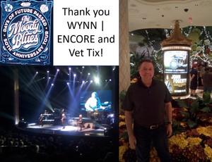 Rick attended The Moody Blues on Oct 5th 2018 via VetTix