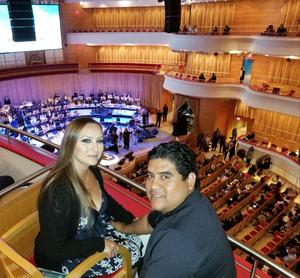 Guillermo attended Vanessa Williams - Presented by the Pacific Symphony on Oct 12th 2018 via VetTix