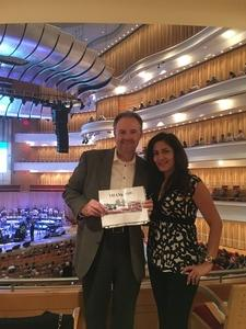 Clint attended Vanessa Williams - Presented by the Pacific Symphony on Oct 13th 2018 via VetTix
