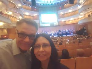 Nicholas attended Vanessa Williams - Presented by the Pacific Symphony on Oct 13th 2018 via VetTix