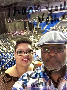 George attended The Miseducation of Lauryn Hill 20th Anniversary Tour - R&b on Oct 5th 2018 via VetTix