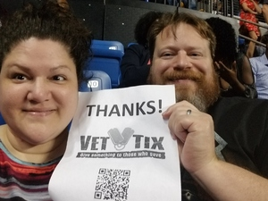 Bruce attended The Miseducation of Lauryn Hill 20th Anniversary Tour - R&b on Oct 5th 2018 via VetTix