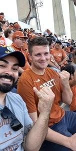 Chris attended Texas Longhorns vs. West Virginia - NCAA Football on Nov 3rd 2018 via VetTix