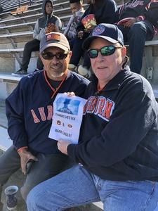 Norman attended Auburn University Tigers vs. Texas A&M - NCAA Football on Nov 3rd 2018 via VetTix