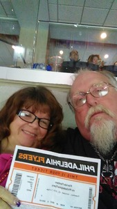 Christopher attended Philadelphia Flyers vs. Florida Panthers - NHL on Oct 16th 2018 via VetTix