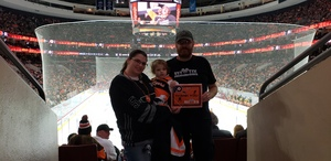 Vincent attended Philadelphia Flyers vs. Florida Panthers - NHL on Oct 16th 2018 via VetTix