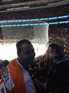 Kenneth attended Philadelphia Flyers vs. Florida Panthers - NHL on Oct 16th 2018 via VetTix