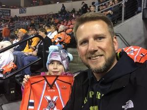 Mike attended Kansas City Mavericks vs. Allen Americans - Season Opener - ECHL on Oct 12th 2018 via VetTix
