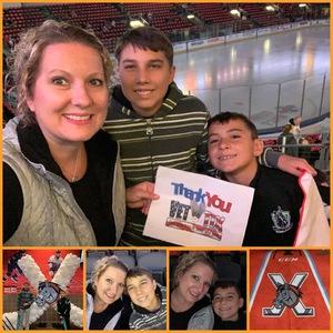 Jamie attended Kansas City Mavericks vs. Allen Americans - Season Opener - ECHL on Oct 12th 2018 via VetTix