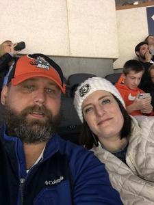 Johnny attended Kansas City Mavericks vs. Allen Americans - Season Opener - ECHL on Oct 12th 2018 via VetTix