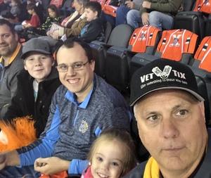 Doug attended Kansas City Mavericks vs. Allen Americans - Season Opener - ECHL on Oct 12th 2018 via VetTix