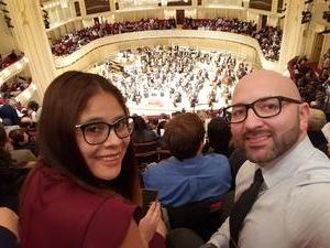 Daniel attended Trifonov Plays Prokofiev - Presented by the Chicago Symphony Orchestra on Oct 20th 2018 via VetTix