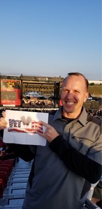 Jason attended Jack's 13th Show with 311, Third Eye Blind, Stone Temple Pilots, Neon Trees, Everclear and Alien Ant Farm on Oct 14th 2018 via VetTix