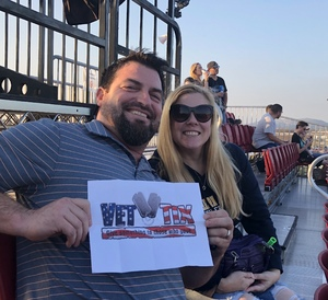 Geremy attended Jack's 13th Show with 311, Third Eye Blind, Stone Temple Pilots, Neon Trees, Everclear and Alien Ant Farm on Oct 14th 2018 via VetTix