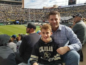 Mitch attended Colorado Buffaloes vs. Oregon State - NCAA Football on Oct 27th 2018 via VetTix