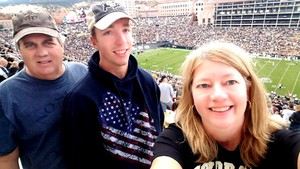 John attended Colorado Buffaloes vs. Oregon State - NCAA Football on Oct 27th 2018 via VetTix