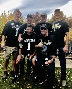 Stephen attended Colorado Buffaloes vs. Oregon State - NCAA Football on Oct 27th 2018 via VetTix