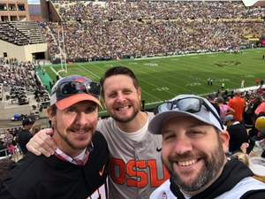 travis attended Colorado Buffaloes vs. Oregon State - NCAA Football on Oct 27th 2018 via VetTix