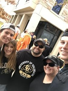 Brian attended Colorado Buffaloes vs. Oregon State - NCAA Football on Oct 27th 2018 via VetTix