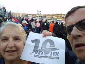 Daniel attended 2018 Martinsville Speedway First Data 500 on Oct 28th 2018 via VetTix